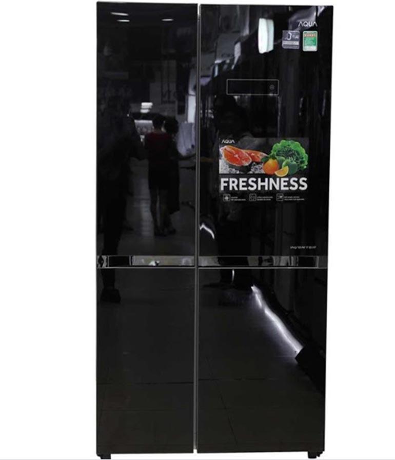 Tủ lạnh Aqua cửa Side by Side