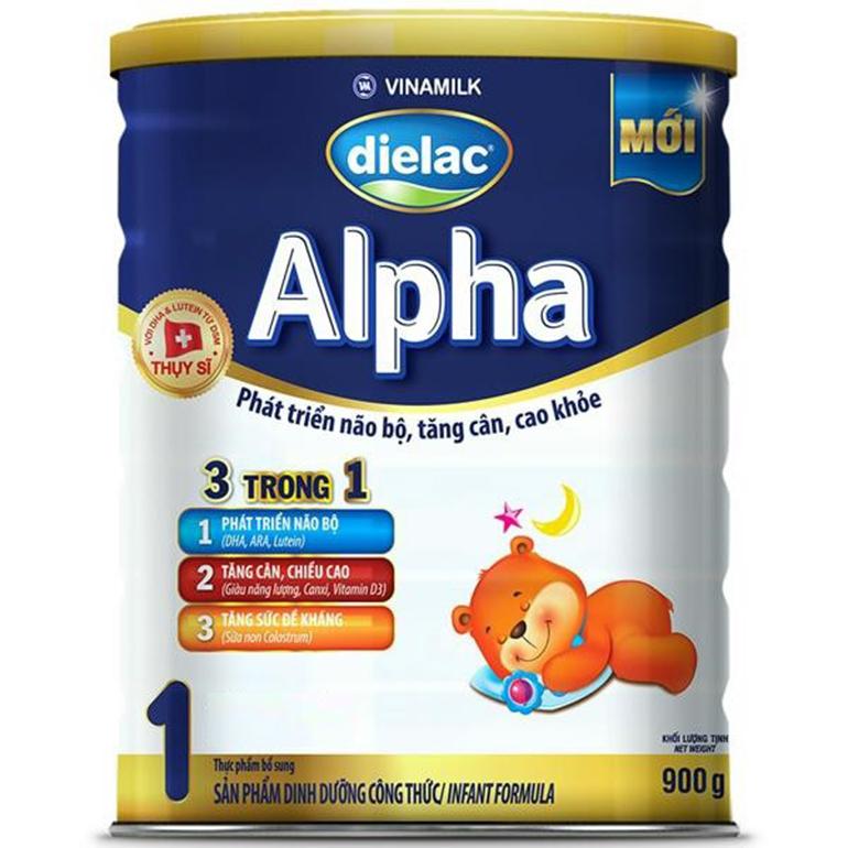 Sữa bột Dielac Alpha