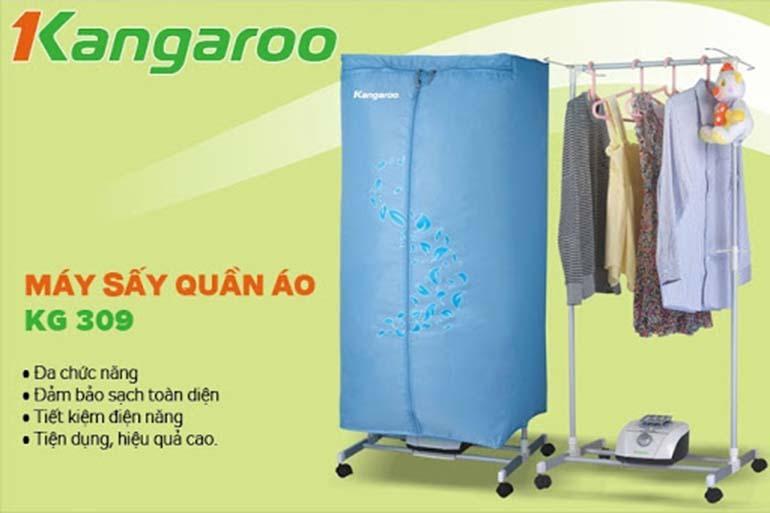 máy sấy quần áo kangaroo