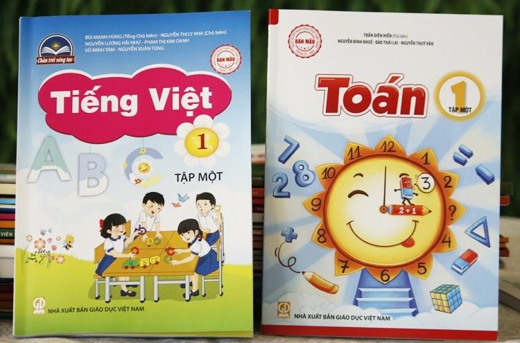32 sách giáo khoa lớp 1 mới được phê duyệt - VnExpress
