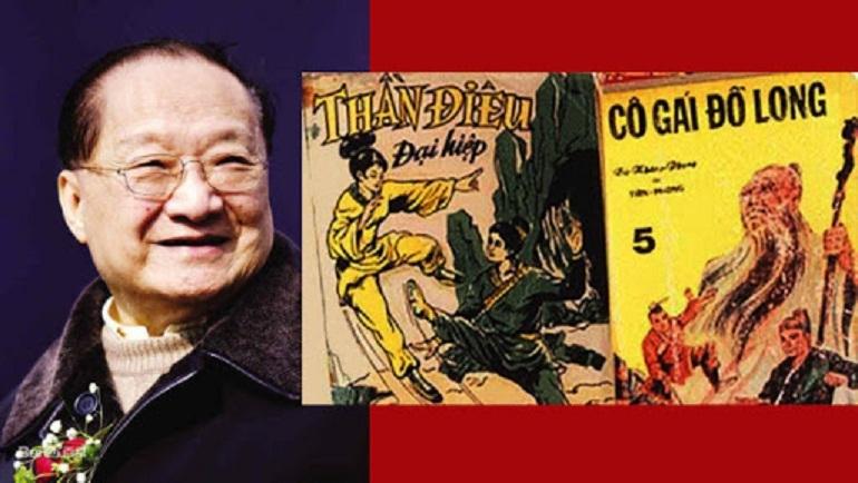 Sách kiếm hiệp Kim Dung nổi tiếng thế giới