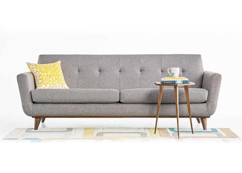sofa văng cho phòng khách thanh lịch, hiện đại