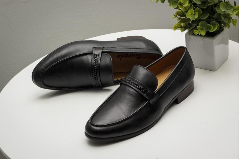 Giày lười nam công sở Sanvado AP-128