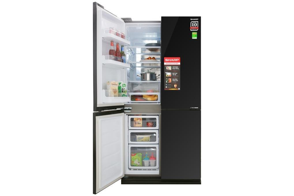 Tủ lạnh Sharp Inverter 605 lít SJ-FX688VG-BK