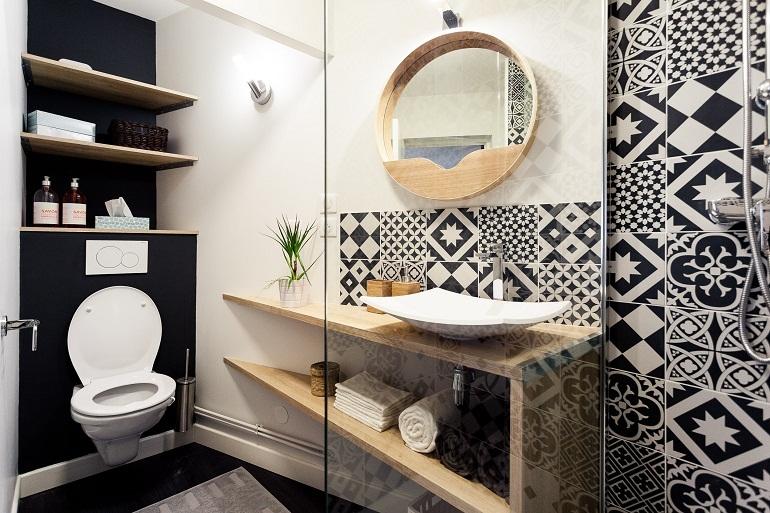 Nội thất phòng tắm mang phong cách cổ điển