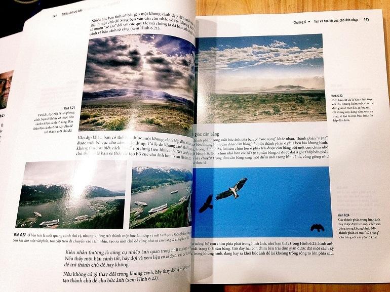 Sách nhiếp ảnh gồm các kiến thức, mô tả về thế giới qua ống kính máy ảnh thật muôn hình muôn vẻ