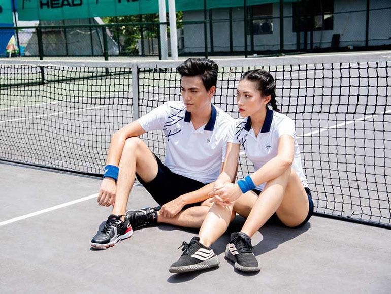 Bộ quần áo thể thao tennis