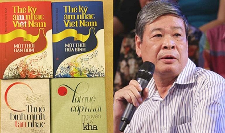 Tác giả viết sách âm nhạc Nguyễn Thụy Kha