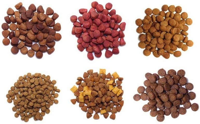 Thức ăn khô cho chó được chế biến sẵn tiện lợi cho người nuôi