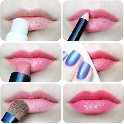 Bí quyết sử dụng chì kẻ môi cho môi thêm xinh, rạng rỡ