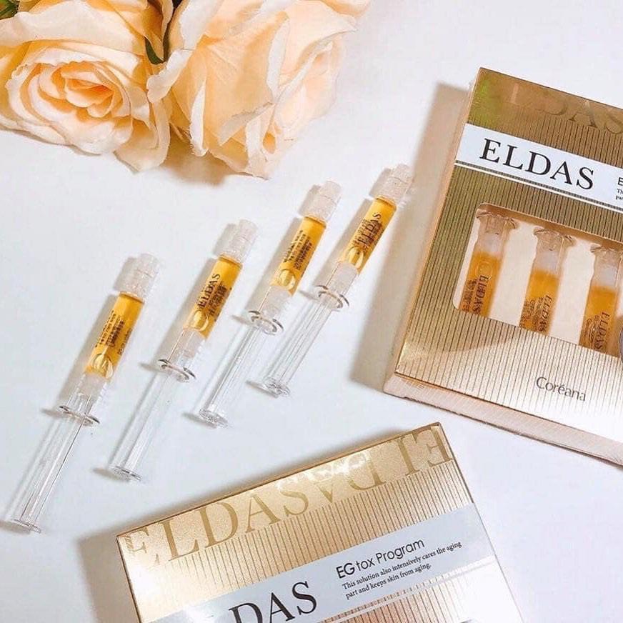 ELDAS bộ sản phẩm chăm sóc da mặt được nhiều chị em lựa chọn