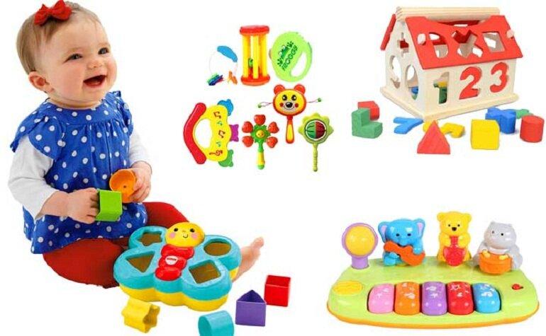 Không chỉ đơn giản là giải trí, vui chơi, đồ chơi còn giúp bé 1 tuổi phát triển tối đa khả năng vận động và tư duy