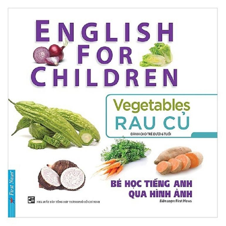 Bộ sách bé học tiếng Anh qua hình ảnh