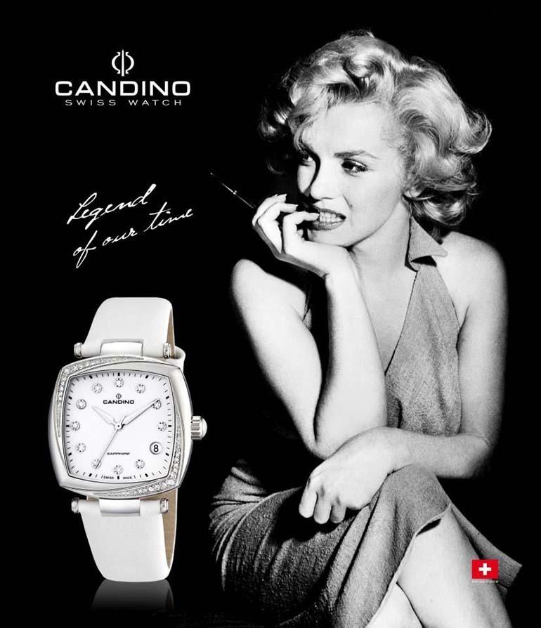 đồng hồ nữ candino