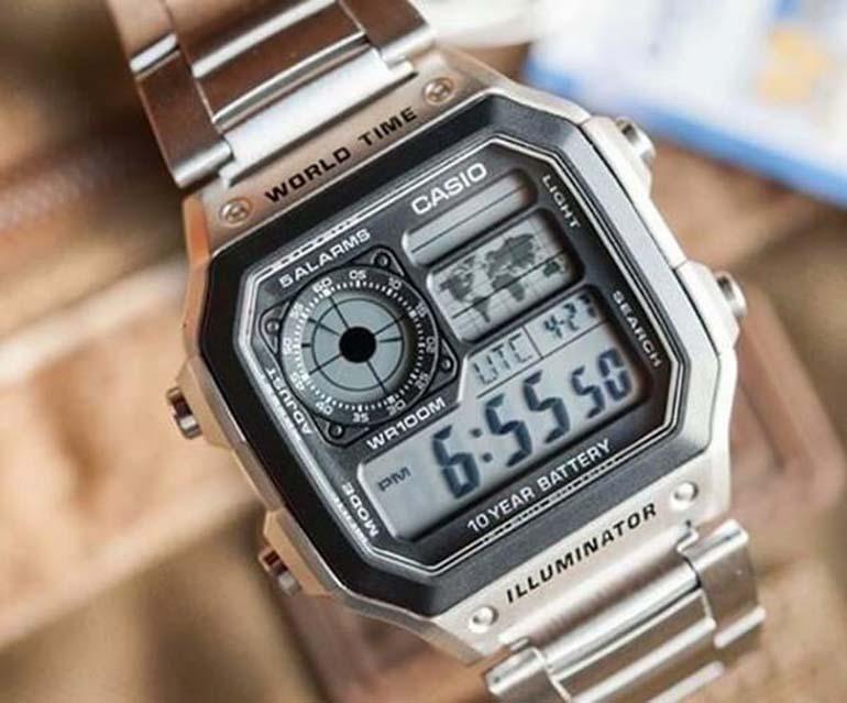 đồng hồ nam casio\