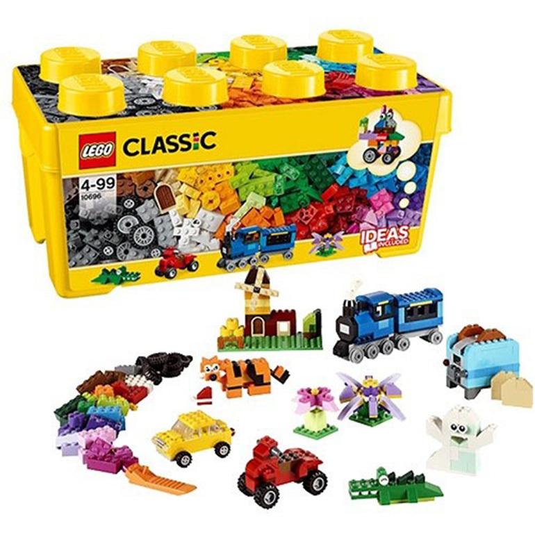 Bộ xếp hình thùng gạch trung sáng tạo Lego Classic