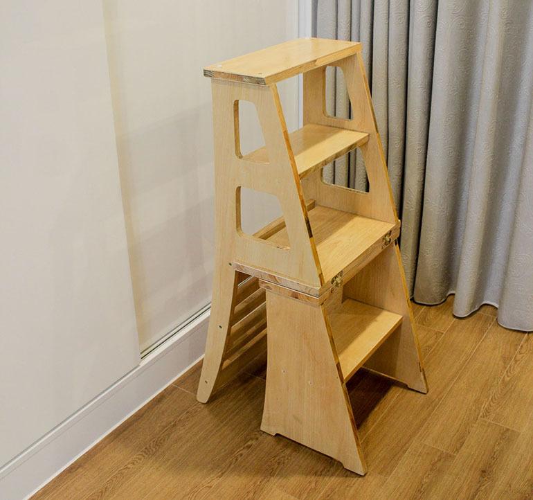 thang ghế bậc