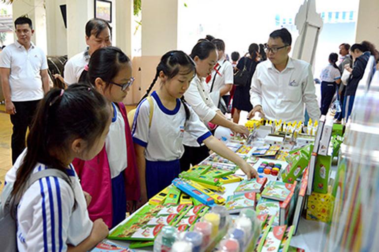 Đồ dùng học tập mang thương hiệu Việt được yêu thích