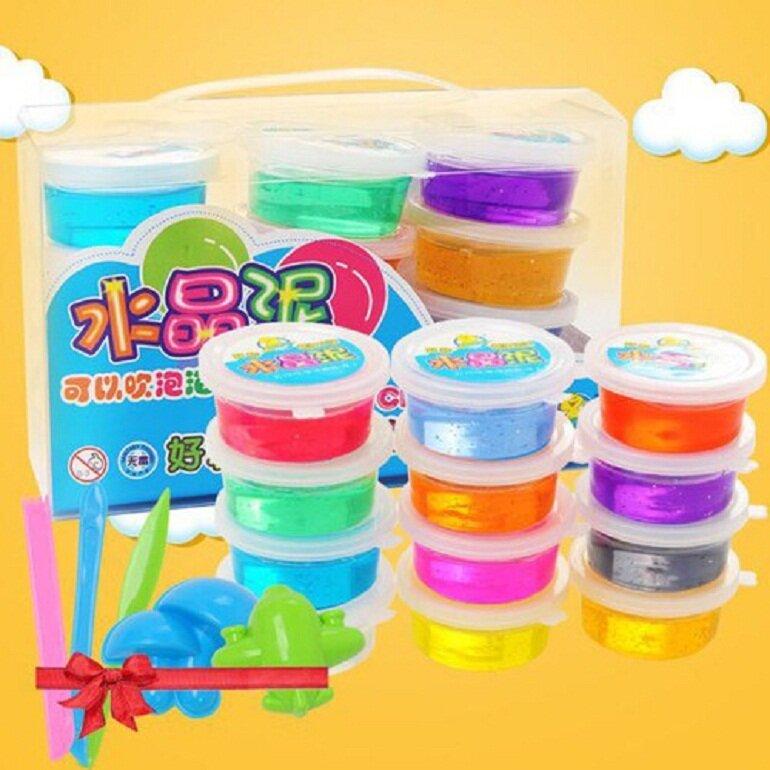 Nên mua đồ chơi Slime của thương hiệu uy tín