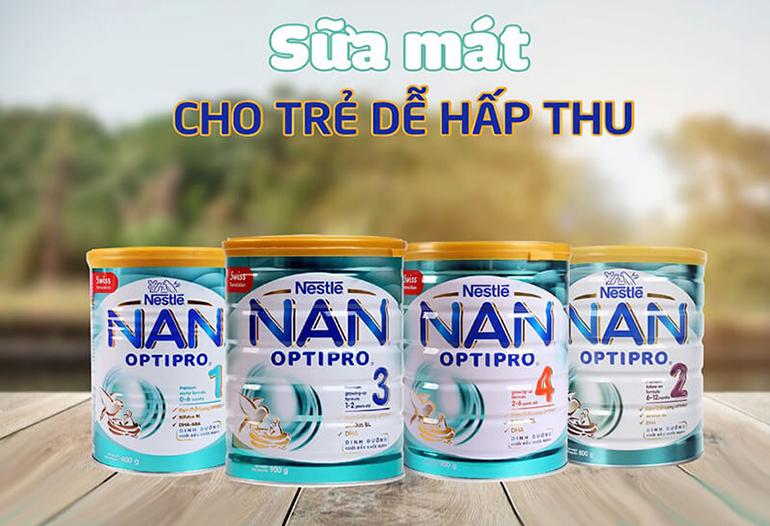 Sữa bột công thức Nan
