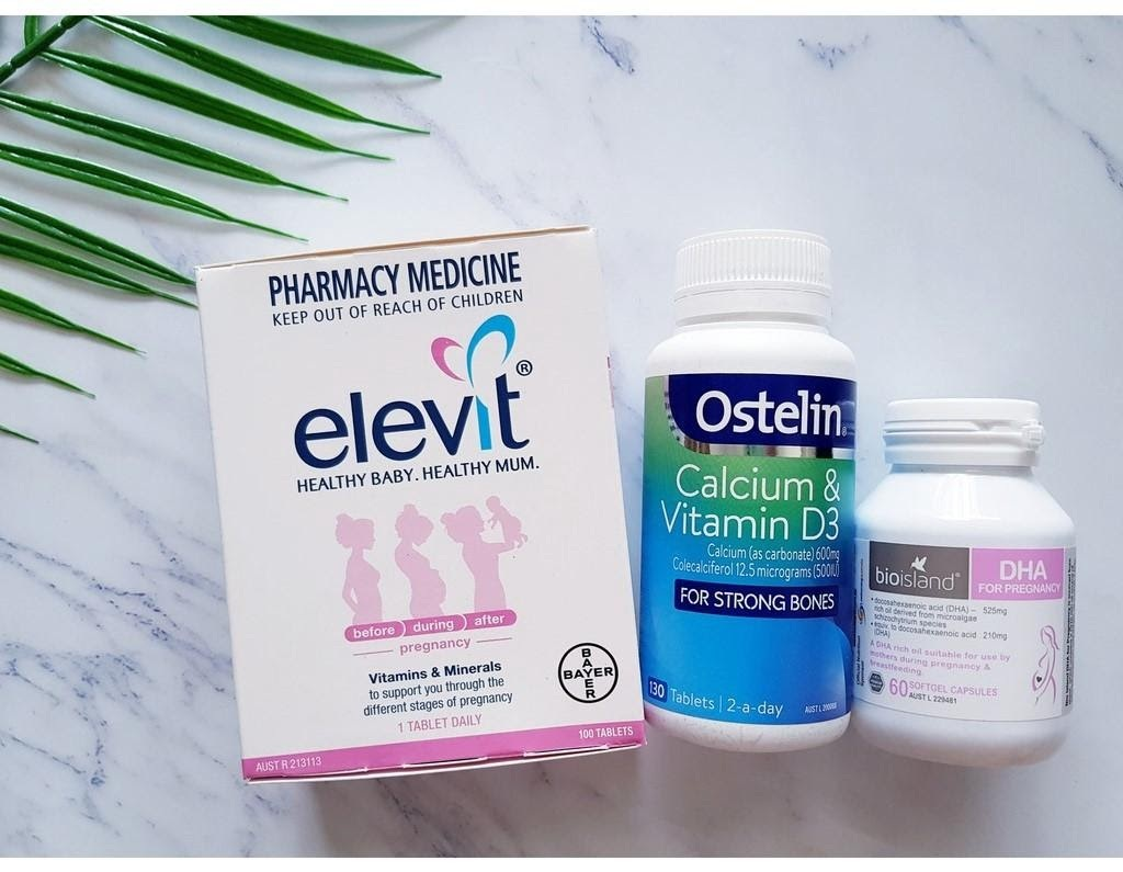 Elevit – Vitamin tổng hợp cho phụ nữ có thai