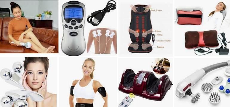 Các loại máy massage phổ biến nhất hiện nay