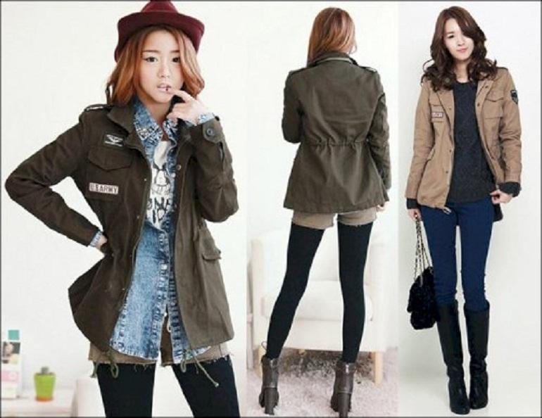 Có rất nhiều loại áo khoác nữ khác nhau