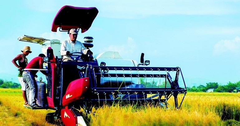 máy gặt