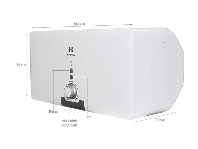 bình tắm nóng lạnh electrolux