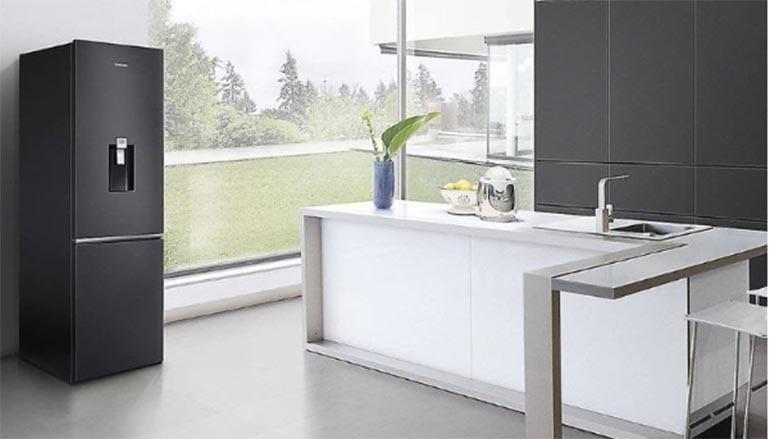 Tủ lạnh Samsung 2 cánh đem đến sự sang trọng cho không gian nội thất