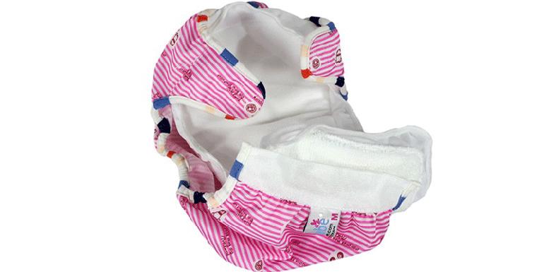 Cần kiểm tra kỹ độ mềm mại của tã vải