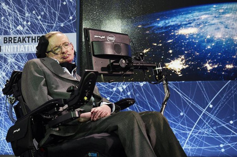 Nhà vật lý thiên tài nổi tiếng thế giới Stephen Hawking