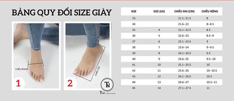 Hãy đi thử giày trước khi mua