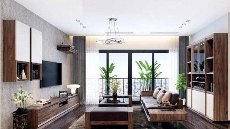 Sắp xếp nội thất phòng khách đẹp theo tính thẩm mỹ trong kiến trúc