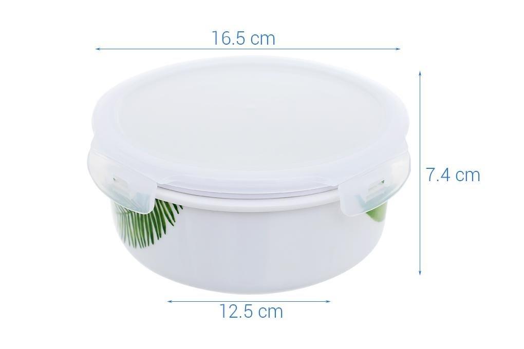 Hộp đựng cơm sứ 800 ml Donghwa BH010