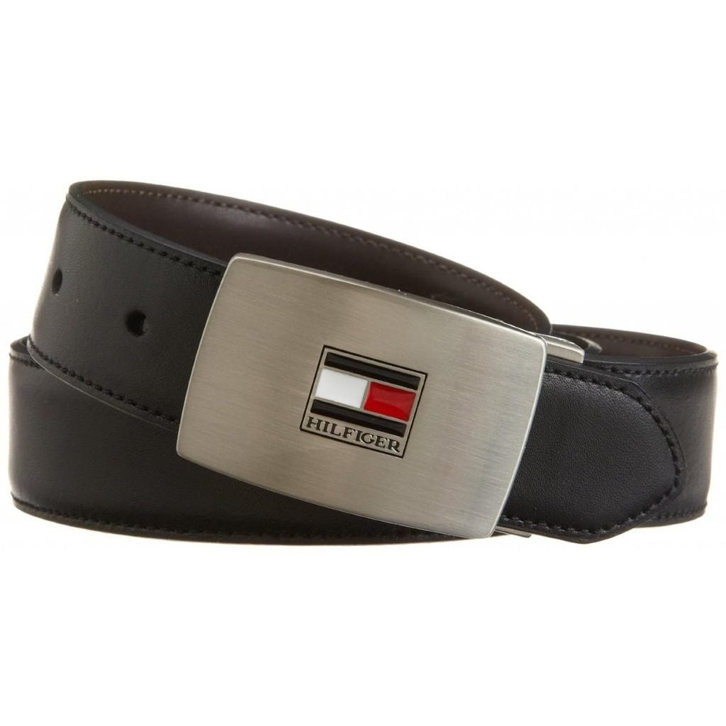Dây lưng - Thắt lưng nam Tommy Hilfiger Mens Interchangeable Buckle and Reversible