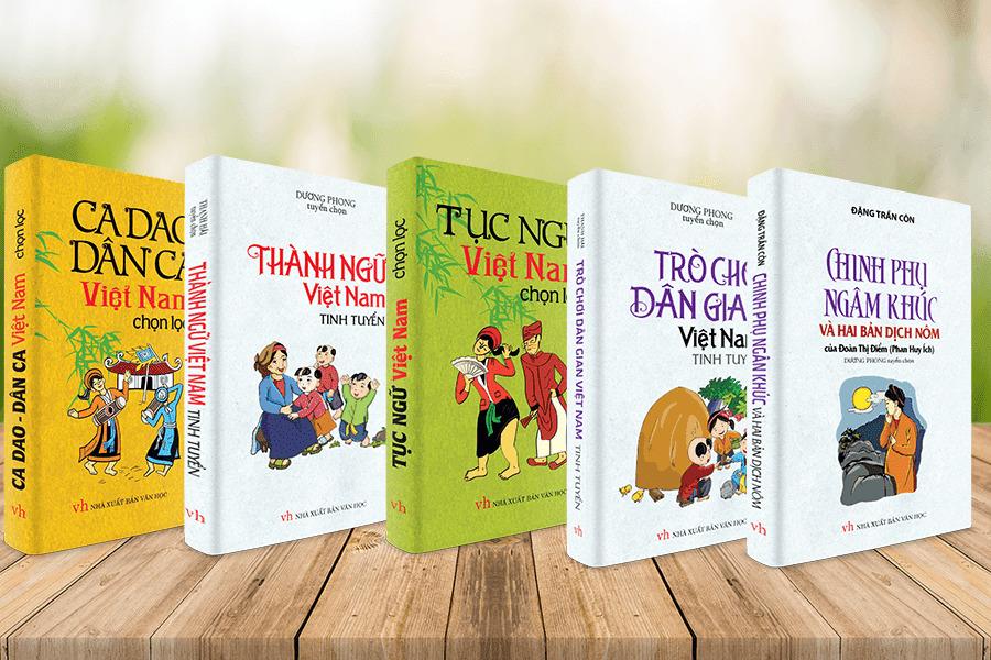 Sách văn học Việt Nam dân gian