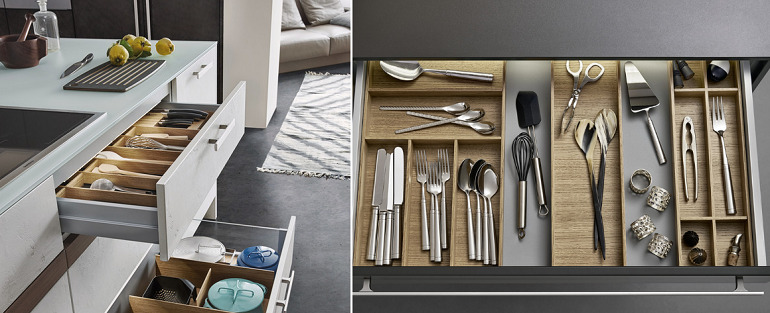 Thiết kế nội thất bếp & phòng ăn đa năng cho không gian hẹp