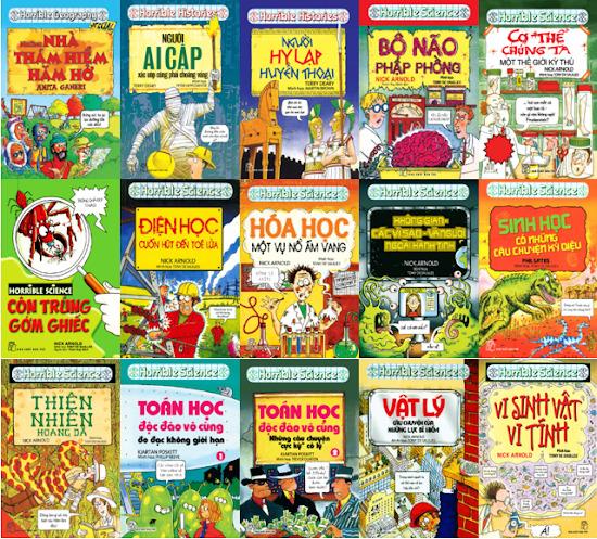 Sách kiến thức bách khoa có nhiều loại thuộc các lĩnh vực khác nhau