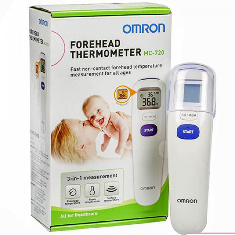 Nhiệt kế đo nhiệt độ của thương hiệu Omron