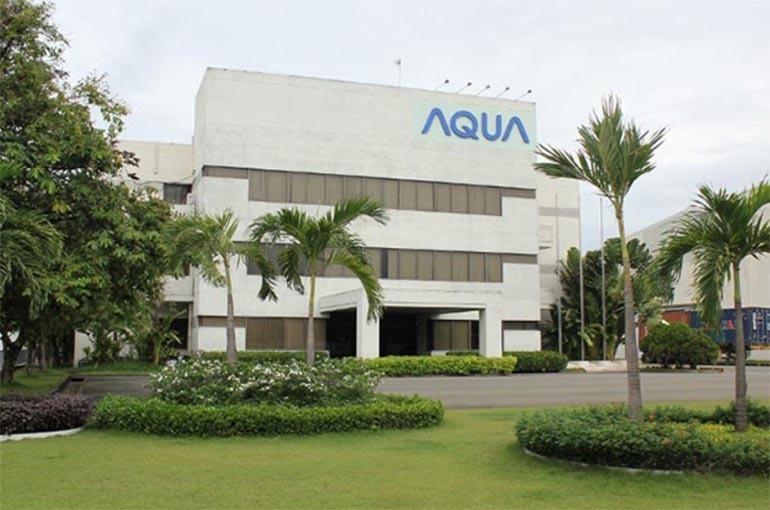 Nhà máy sản xuất tủ lạnh Aqua đặt tại khu công nghiệp Biên Hoà II