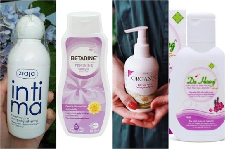Các sản phẩm vệ sinh cho các mẹ