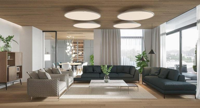 Tính thẩm mỹ của nội thất hiện đại