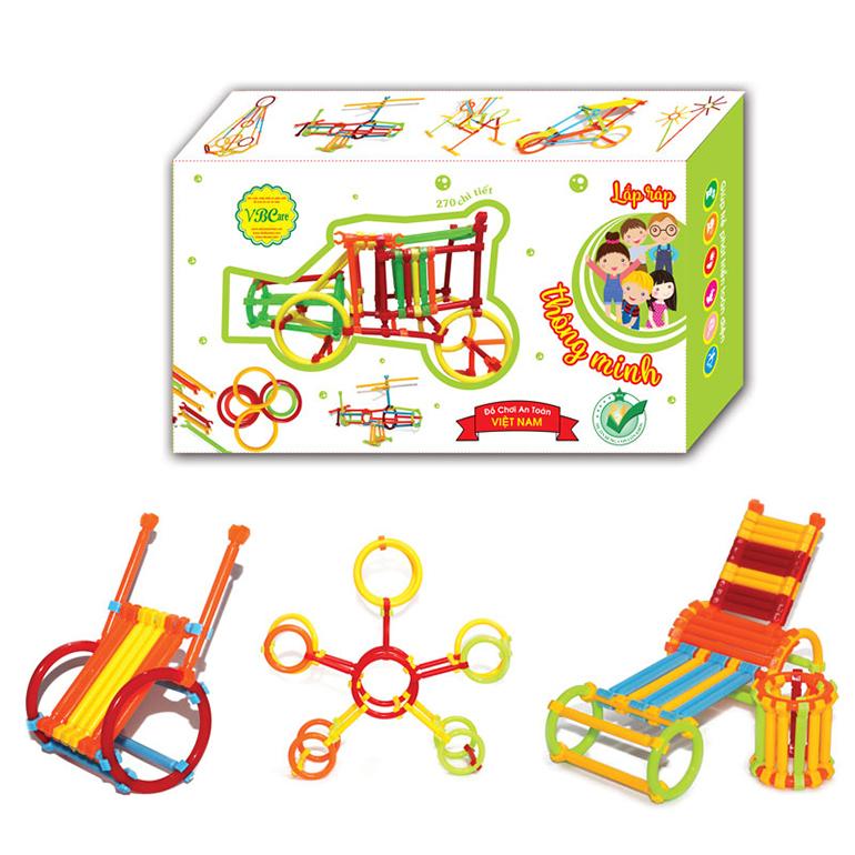 đồ chơi lắp ráp - xây dựng VBCare