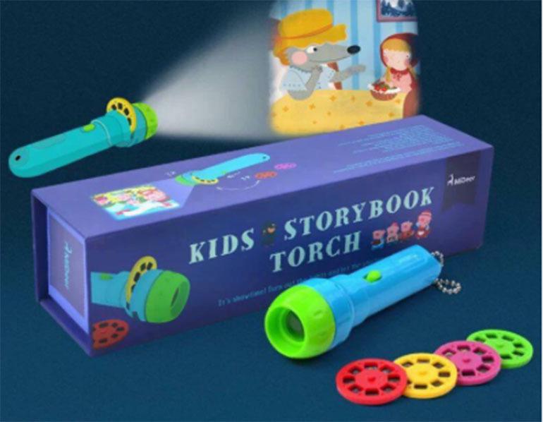 Đèn chiếu kể chuyện cổ tích Storybook Torch Mideer