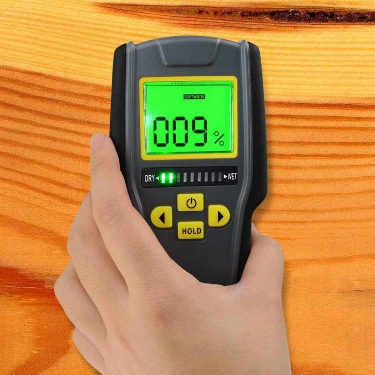 Máy đo độ ẩm không dùng pin