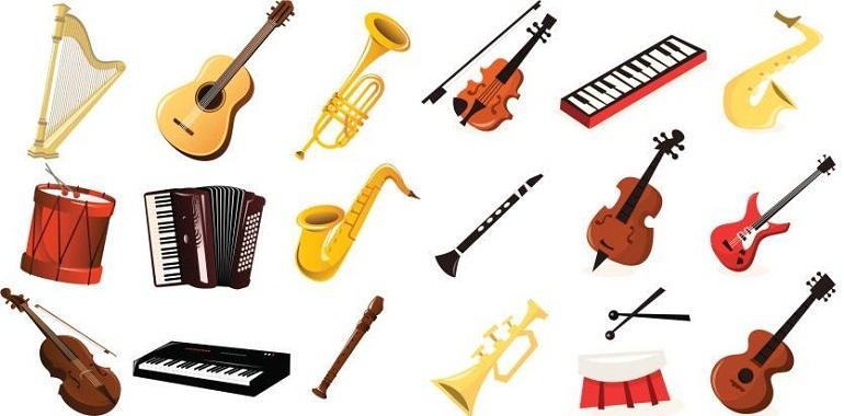 Mỗi nhạc cụ sẽ có những hình dáng, đặc trưng về âm thanh riêng