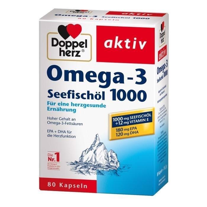 Viên dầu cá Doppelherz Aktiv Omega 3