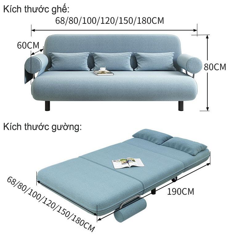 sofa giường cho phòng khách càng ngày càng hot