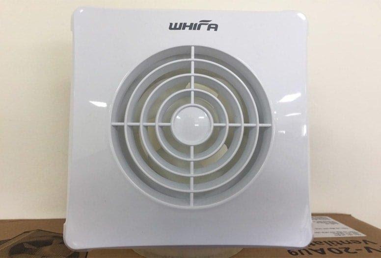 Quạt thông gió âm tường Whifa VNB-10CK